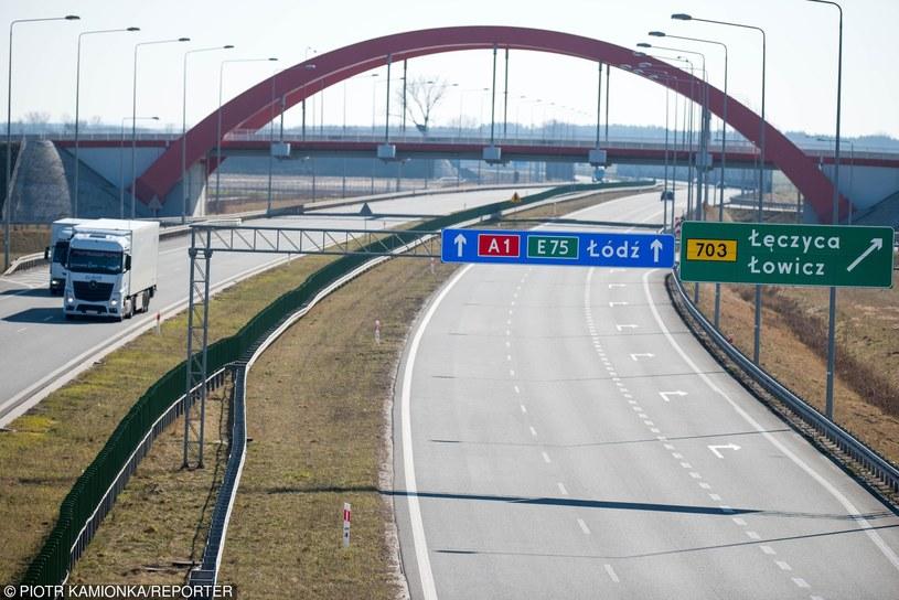 Łódź zyska bezpośrednie połączenie z autostradą A1 /Piotr Kamionka /Reporter