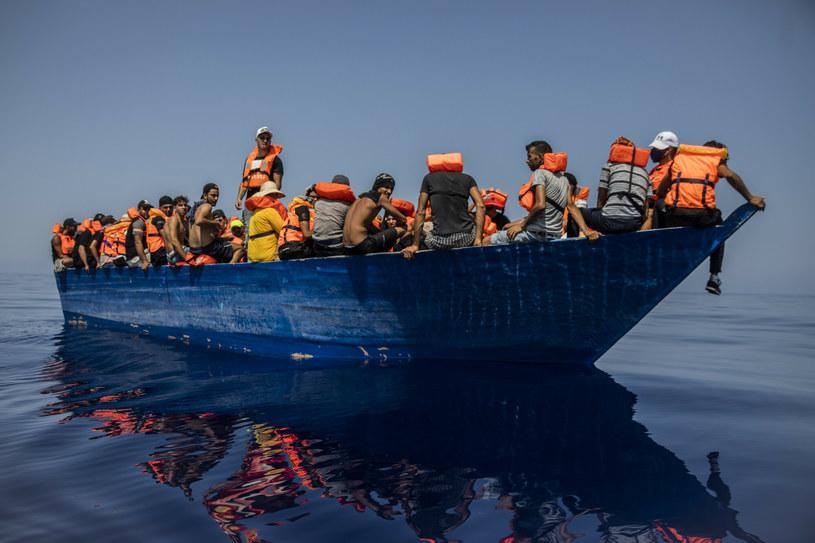 Łodzie z migrantami, zdj. ilustracyjne /AP/Associated Press/East News /East News