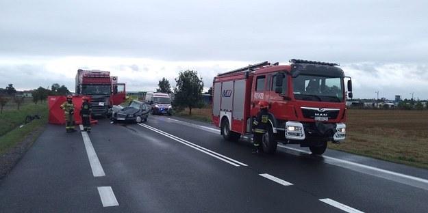 Łódzkie: Dwie osoby zginęły w wypadku na dk 92 /Policja