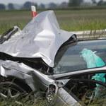 Łódzkie: Dwie osoby zginęły w wypadku na DK 92