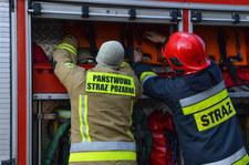 Łódzkie: Pożar domu jednorodzinnego. Nie żyją dwie osoby