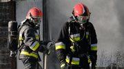 Łódzkie: Pożar hali produkcyjnej w fabryce mebli