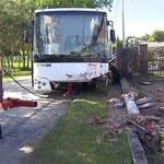 Łódzkie: Wypadek autobusu szkolnego. Na miejscu śmigłowiec LPR