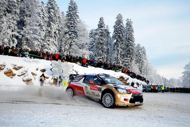 Loeb prowadzi w rajdzie Monte Carlo /AFP