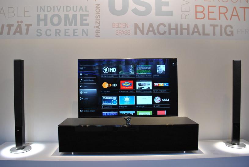 Loewe - firma znana z produkcji sprzętu audio oraz wideo z bardzo wysokiej półki (cenowej) /INTERIA.PL