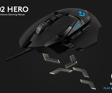 Logitech G502 otrzymuje rewolucyjny sensor HERO 16K