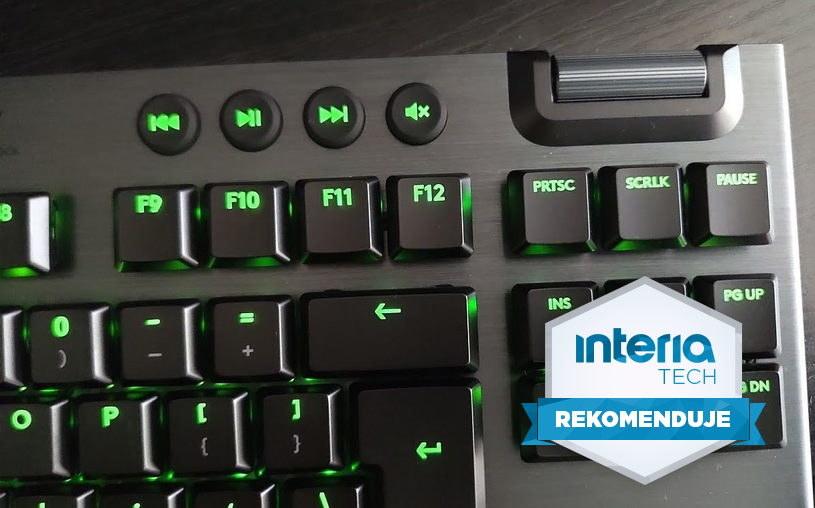 Logitech G915 TKL otrzymuje REKOMENDACJĘ serwisu Interia Tech /INTERIA.PL