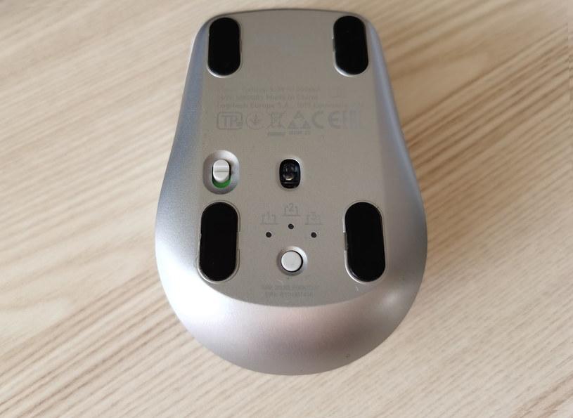 Logitech MX Anywhere 3 - mysz można sparować z trzema urządzeniami i zmienić profil w dowolnym momencie /INTERIA.PL