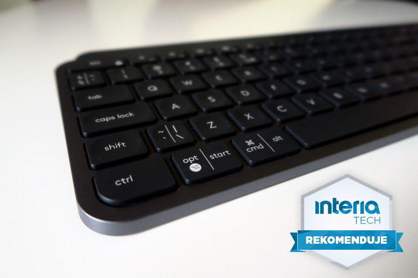 Logitech MX Keys  otrzymuje REKOMENDACJĘ serwisu Technologie Interia /INTERIA.PL