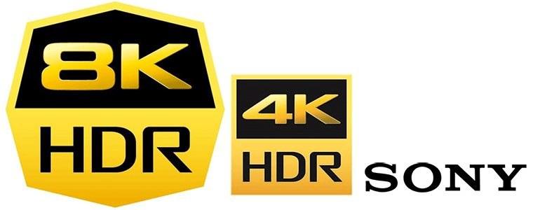 Logo 8K HDR obok 4K HDR /materiały prasowe