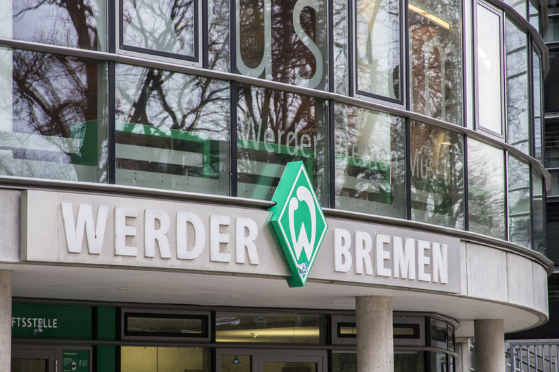 Logo drużyny sportowej Werder Brema /AFP