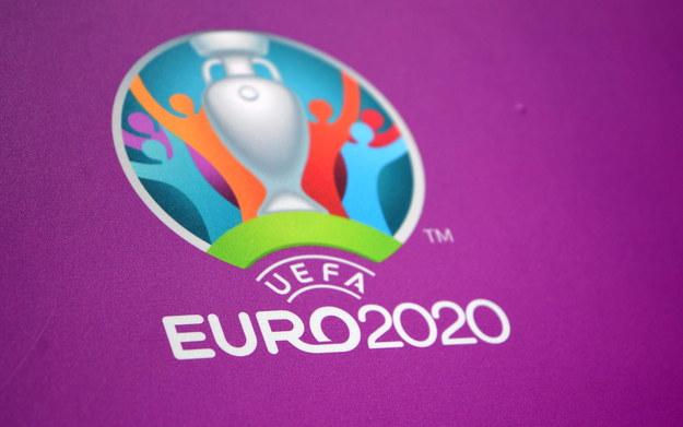 Logo Euro 2020 /NEIL HALL /PAP/EPA