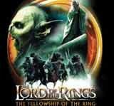"""Logo filmu """"Władca pierścieni: Drużyna pierścienia"""" /"""