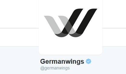 Logo Germanwings na Twitterze /Twitter