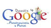 Logo Google na Euro 2012