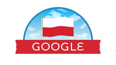 Logo Google na Święto Niepodległości /RMF FM