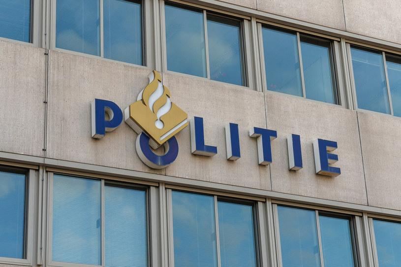 Logo holenderskiej policji - zdjęcie ilustracyjne /GERARD/REPORTER /East News