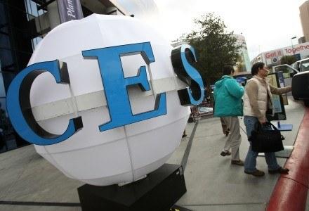 Logo imprezy CES /AFP