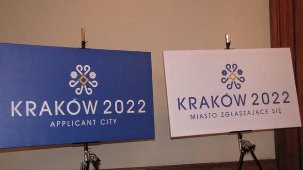 Logo Krakowa na igrzyska 2022 /Maciej Grzyb /RMF FM