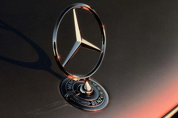 Logo mercedesa jest wysoko cenione /