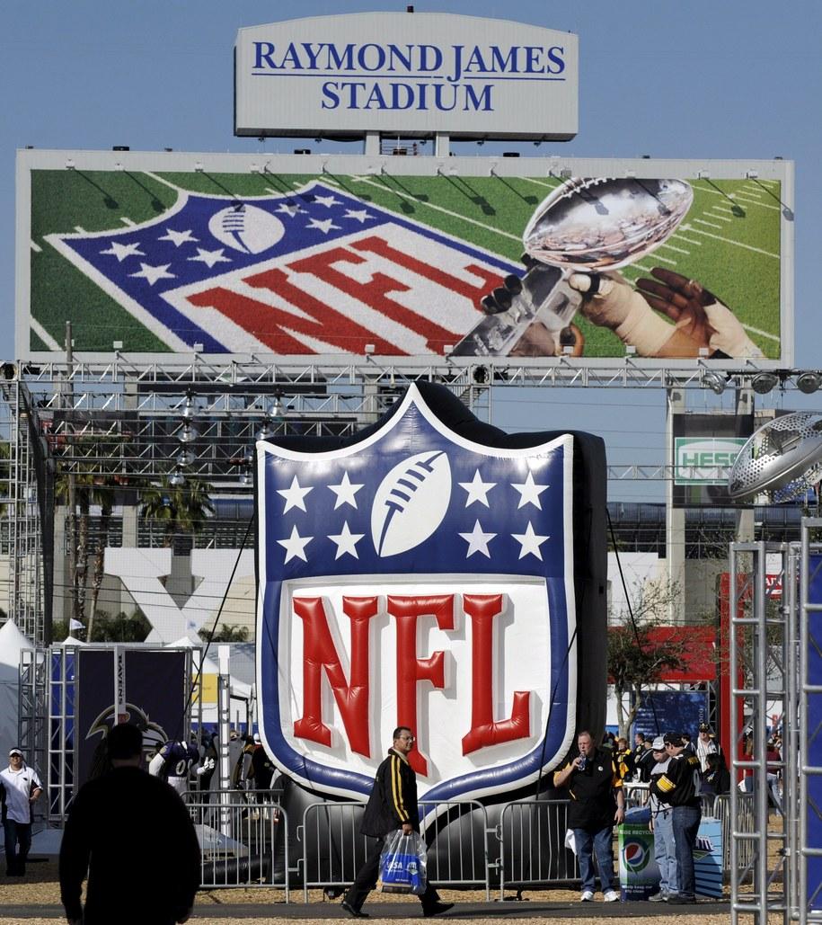 Logo NFL /JUSTIN LANE /PAP/EPA