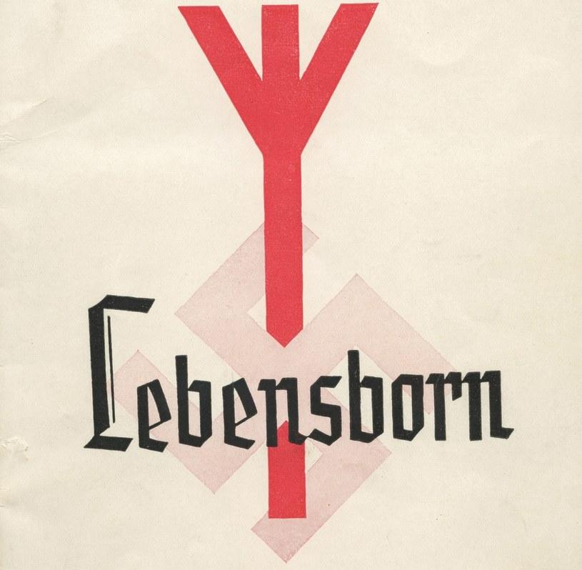 Logo organizacji Lebensborn /E&T / mediadrumworld.com /Agencja FORUM
