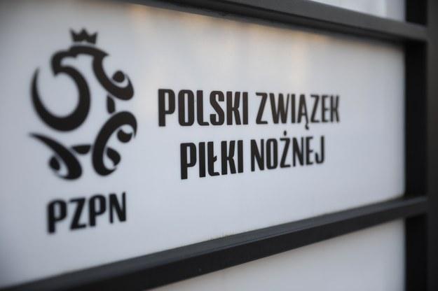 Logo Polskiego Związku Piłki Nożnej /Leszek Szymański /PAP