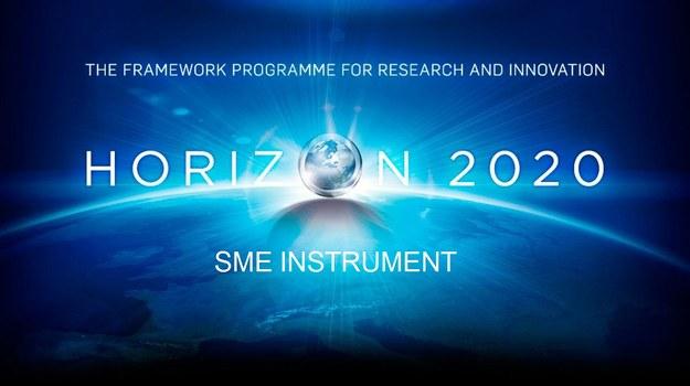 Logo SME Instruments z Horizon 2020. Fot. Komisja Europejska /&nbsp