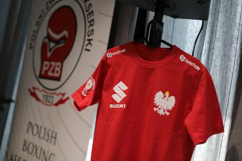 Logo Suzuki znalazło się m.in. na koszulkach bokserów /materiały prasowe