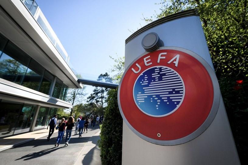 Logo UEFA - zdj. ilustracyjne /AFP