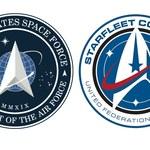 Logo US Space Force nawiązuje do Star Treka