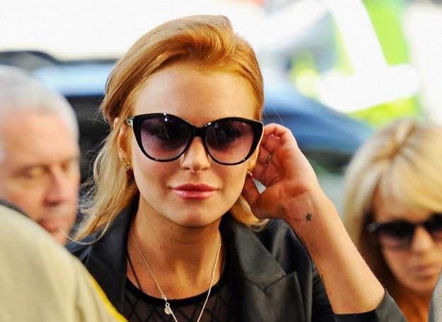 Lohan przez wyrok może przepaść kontrakt na nowy film /Getty Images/Flash Press Media