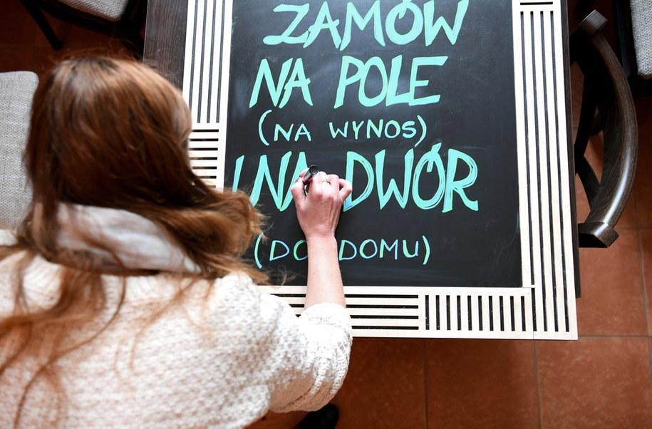 Lokal gastronomiczny w Przemyślu /Darek Delmanowicz /PAP