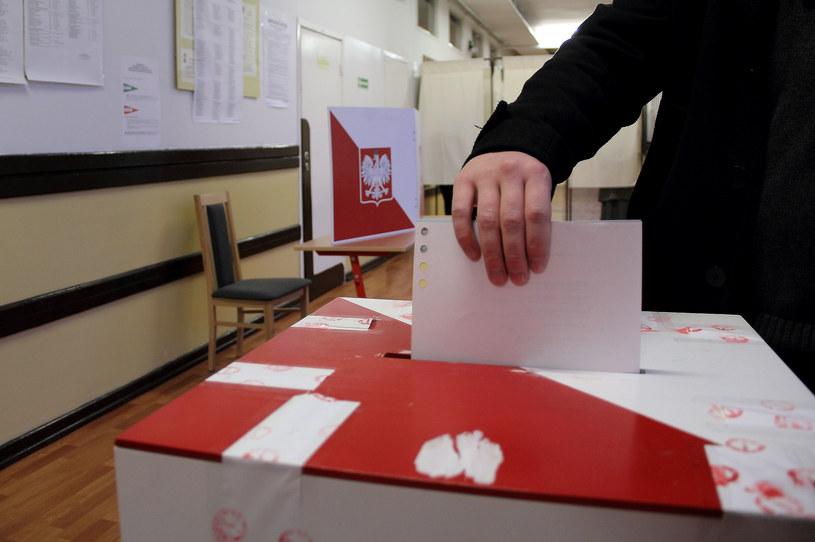 Lokal wyborczy. Fot. Marcin Kowalik /Agencja FORUM