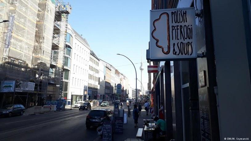 Lokal z polskim jedzeniem w modnej dzielnicy Mitte /Deutsche Welle