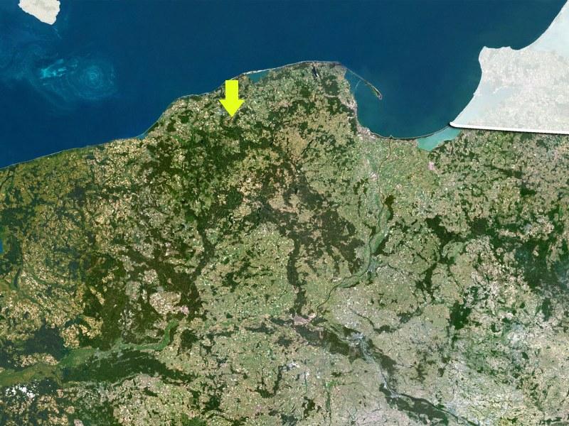 Lokalizacja bazy w Redzikowie /PLANETOBSERVER/Science Photo Library /East News