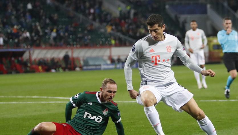 Lokomotiw Moskwa - Bayern Monachium 1-2 w 2. kolejce fazy grupowej Ligi Mistrzów