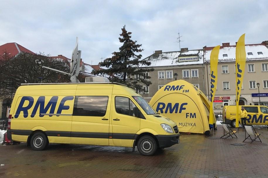 Łomża Twoim Miastem w RMF FM /  /Michał Dukaczewski, RMF FM