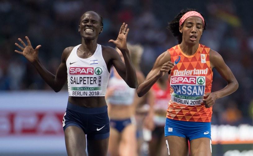 Lonah Chemtai Salpeter (z lewej) /AFP