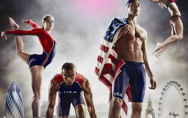 London 2012 - The Official Video Game of the Olympic Games - motyw graficzny /Informacja prasowa