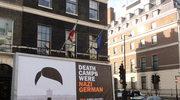 """Londyn: Billboard """"niemieckimi obozami"""" przed siedzibą BBC"""