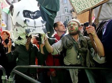 Londyn: Marsze protestacyjne są zaplanowane na cały dzień /AFP