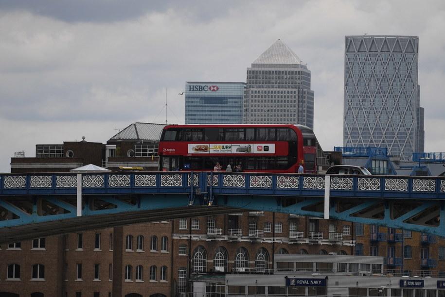 Londyn na zdjęciu ilustracyjnym /NEIL HALL /PAP/EPA