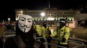Londyn: Starcia policji z antykapitalistami z ruchu Anonymous