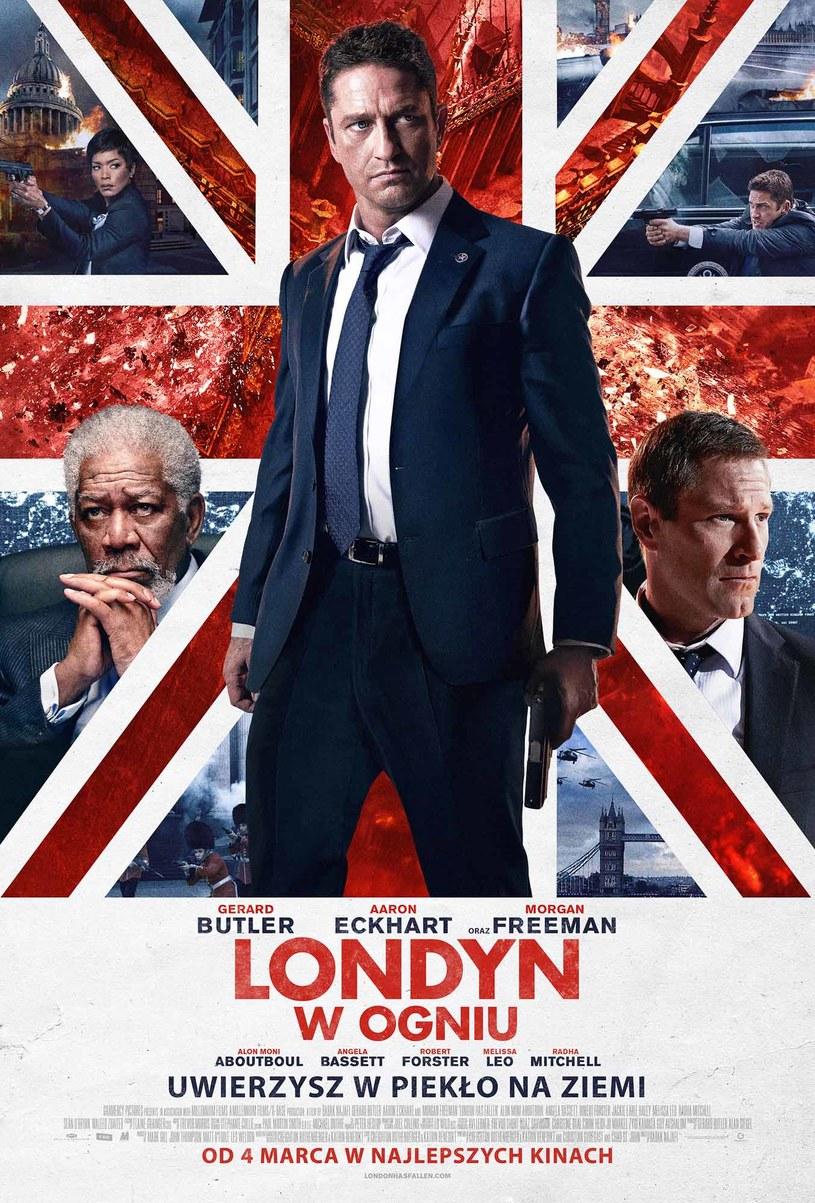 """""""Londyn w ogniu"""" trafi na ekrany kin w najbliższy piątek, 4 marca /materiały dystrybutora"""