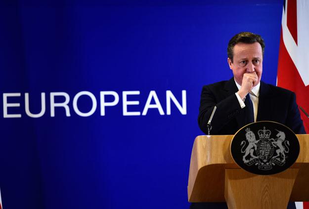 Londynowi pozwolono wybierać rodzynki z ciasta (na zdjęciu premier David Cameron) /AFP