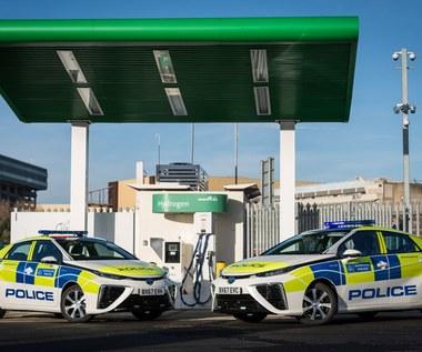 Londyńska policja stawia na wodór