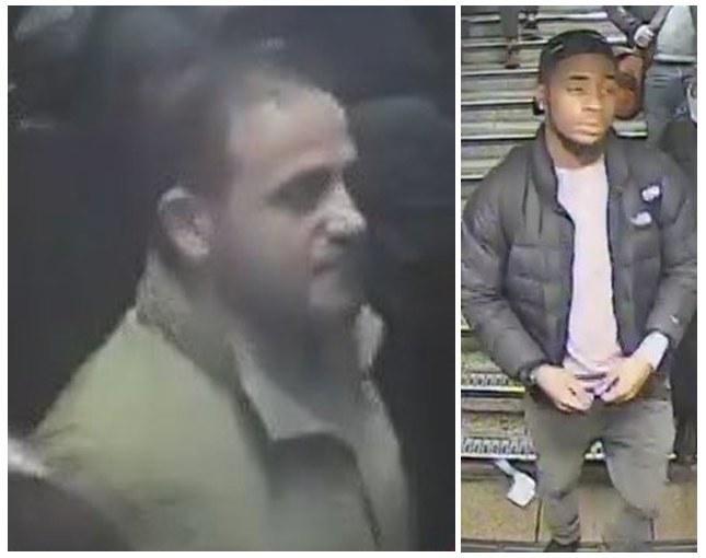 Londyńska policja szuka tych mężczyzn /LONDON METROPOLITAN POLICE / HANDOUT  /PAP/EPA