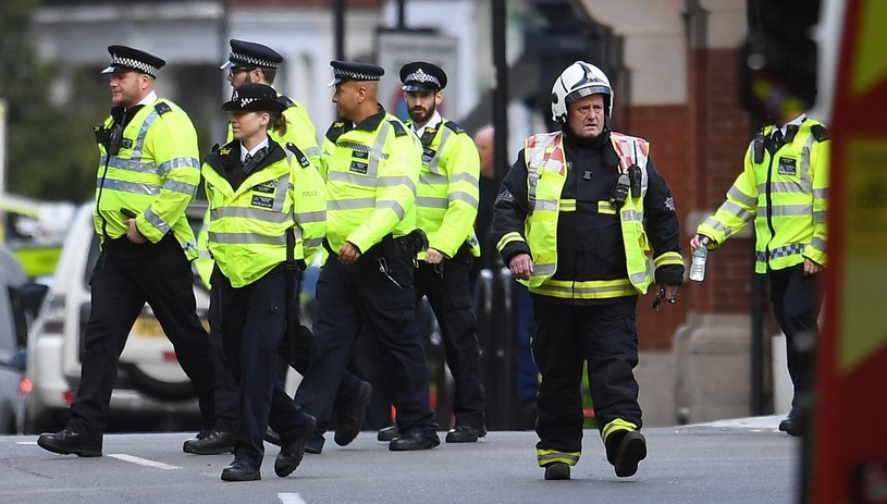 Londyńska policja /ANDY RAIN /PAP/EPA