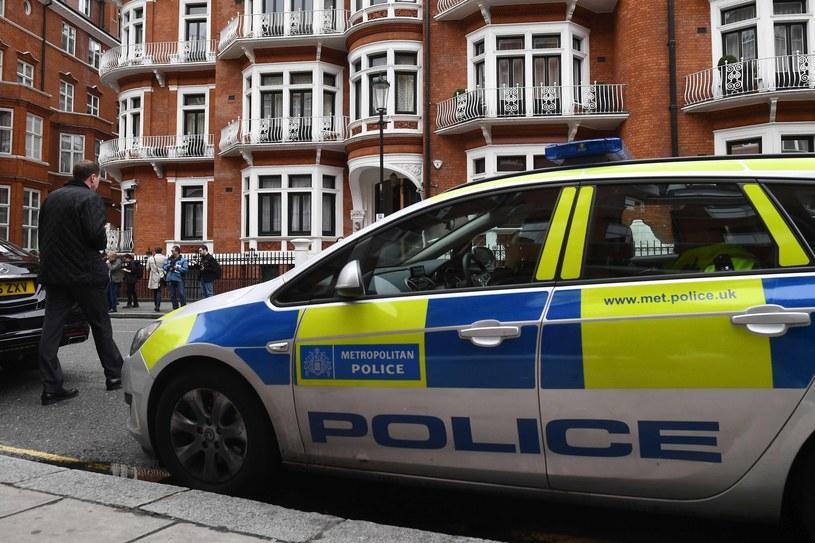 Londyńska policja /JUSTIN TALLIS /East News
